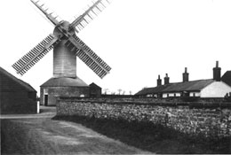 The mill seen from The Terrace, 1907
